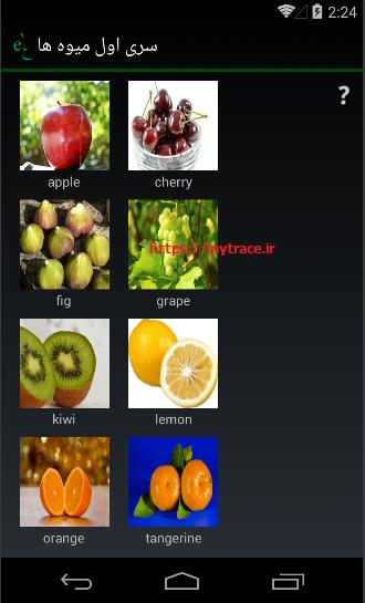 تَلای نه: سری اول میوه ها (1)
